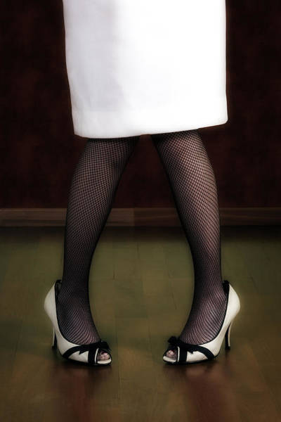 Forties Photograph - Legs And Shoes by Joana Kruse