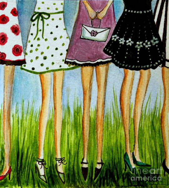 Painting - Legs by Elizabeth Robinette Tyndall