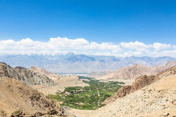 Photograph - Leh Valley by Didier Marti