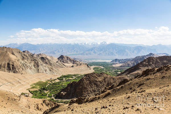 Photograph - Leh Valley In Ladakh In India by Didier Marti