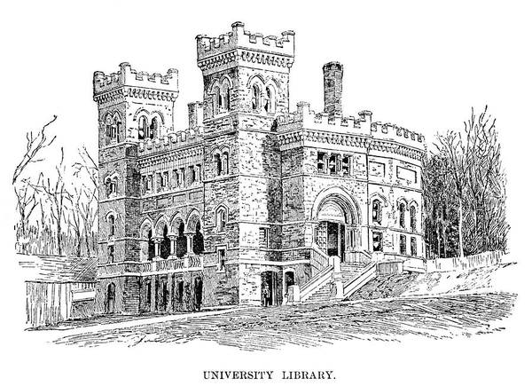 Lehigh University Wall Art - Painting - Lehigh University, 1888 by Granger