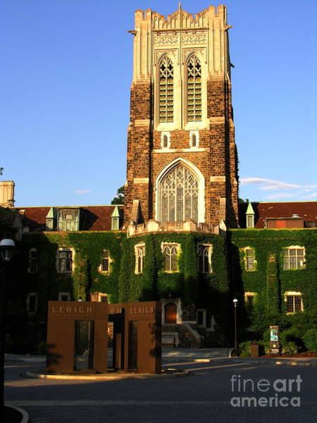 Lehigh University Wall Art - Photograph - Lehigh University Alumni Memorial Building by Jacqueline M Lewis