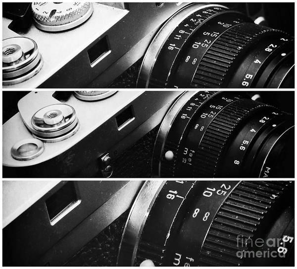 Photograph - Leica Panels by John Rizzuto