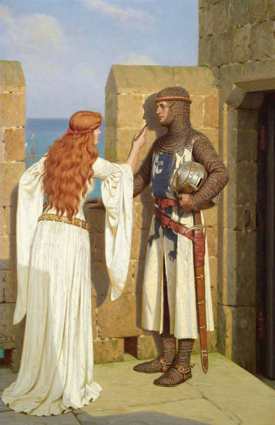 Wall Art - Painting - Leighton The Shadow, C1909 by Granger