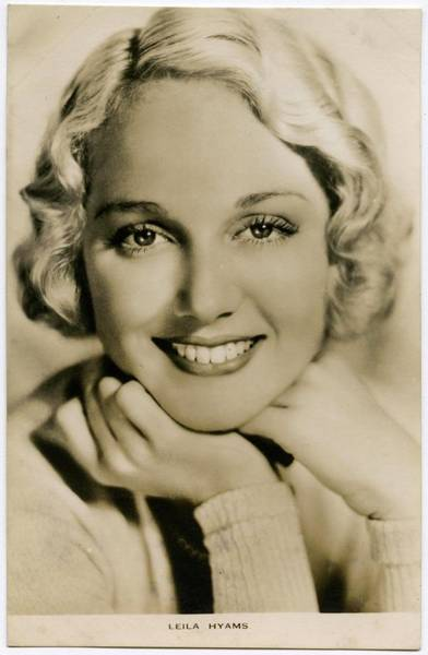 Wall Art - Photograph - Leila Hyams (1905 - 1977), American by Mary Evans Picture Library