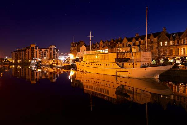 Photograph - Leith Docks by Stephen Taylor