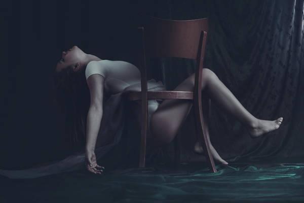 Blonde Photograph - Leitmotif Of Self Retrieval by Bettina Tautzenberger