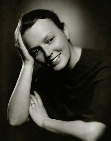 Hobbies Photograph - Lelia Roosevelt Denis by Ben Pinchot