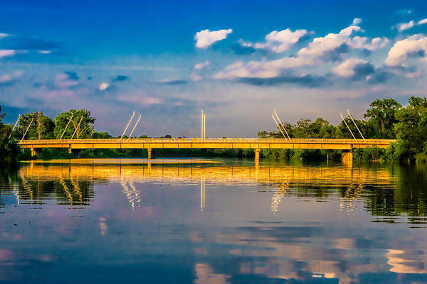 Photograph - Lemay Ferry Bridge by Robert FERD Frank