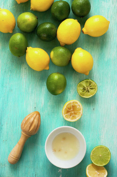 Large Photograph - Lemon And Lime by Photo By Asri' Rie