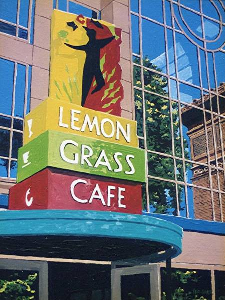 Lemon Grass Art Print by Paul Guyer