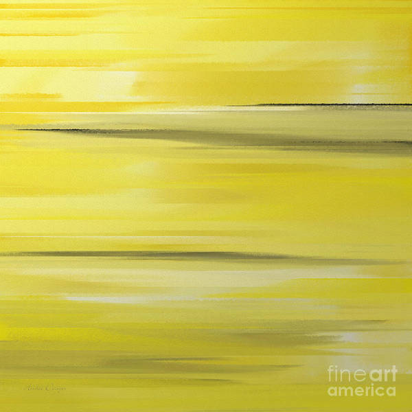 Digital Art - Lemon Pepper Abstract Square by Andee Design