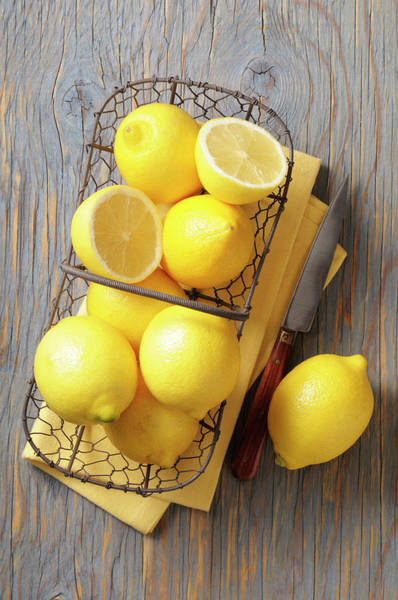 Lemon Photograph - Lemon by Riou