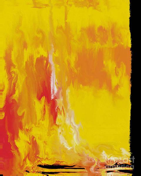 Pearl Jam Painting - Lemon Yellow Sun by Roz Abellera