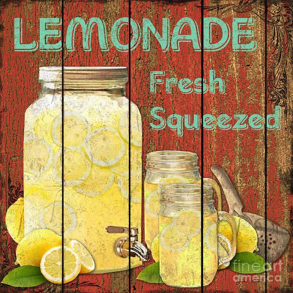 Rustic Mixed Media - Lemonade by Jean PLout
