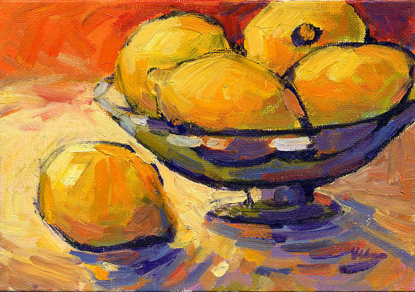 Painting - Lemons 1  by Konnie Kim