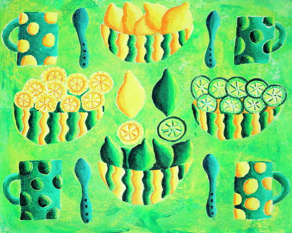 Wall Art - Photograph - Lemons And Limes by Julie Nicholls/science Photo Library