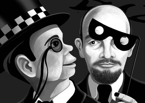 Digital Art - Lenin And Mccarthy   by Tom Dickson