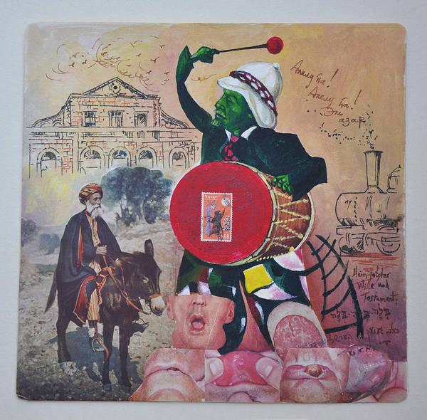 Lenin Painting - Lenin And Nasreddin In Jerusalem by Nekoda  Singer