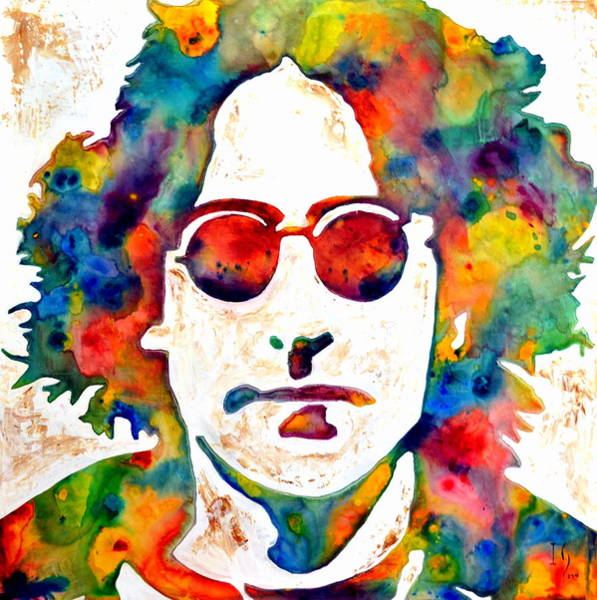 Sax Painting - Lennon by Ivan Guaderrama