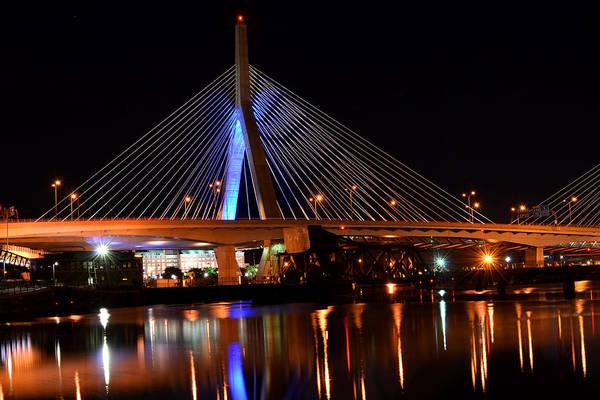 Photograph - Lenny Zakim Bridge Boston Ma by Toby McGuire