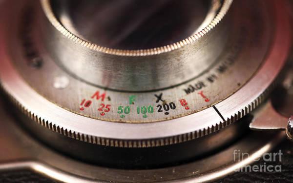 Shutter Speed Photograph - Lens Settings by John Rizzuto