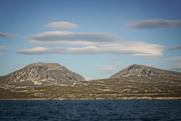 Photograph - Lenticular Cloud Hangout by Ben Shields
