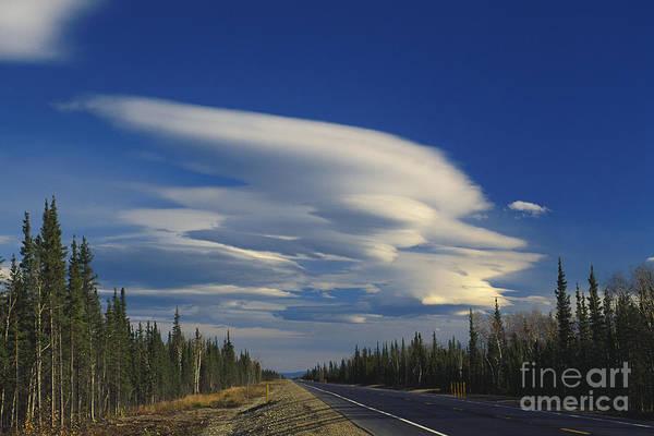 Photograph - Lenticular Cloud by Stephen J Krasemann