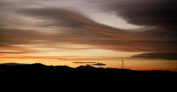 Photograph - Lenticular Sunset by Marilyn Hunt