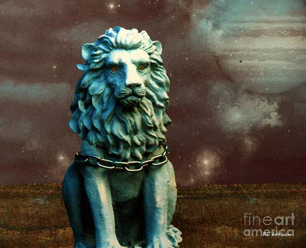 Painting - Leo Celestial by RC DeWinter