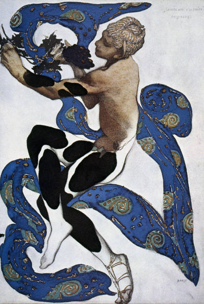 Drawing - Leon Bakst Faune by Granger