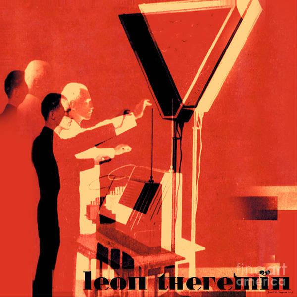 Leon Theremin Art Print