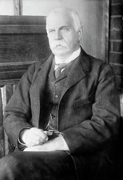 Leonard Photograph - Leonard Darwin by Library Of Congress