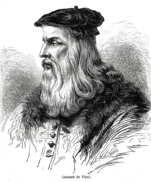 Photograph - Leonardo Da Vinci by Collection Abecasis