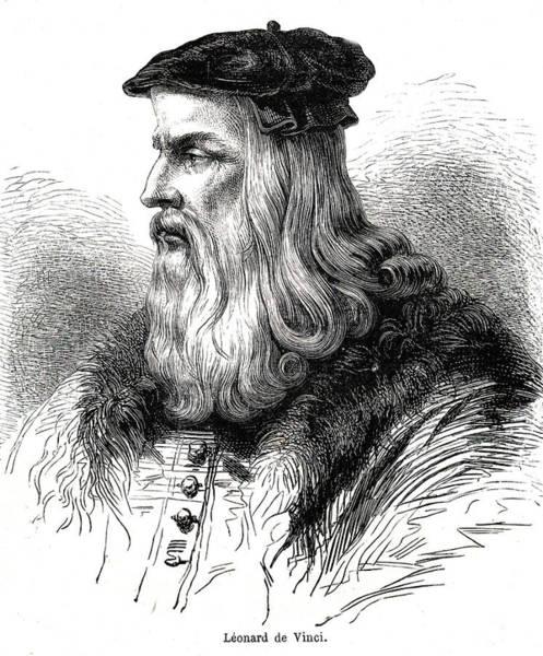 Photograph - Leonardo Da Vinci by Collection Abecasis/science Photo Library