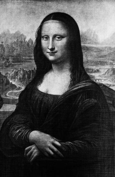 Priceless Painting - Leonardo Da Vincis Mona Lisa 16th by Vintage Images