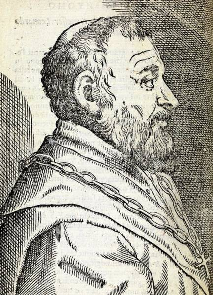 1566 Photograph - Leonardo Fioravanti by Middle Temple Library/science Photo Library