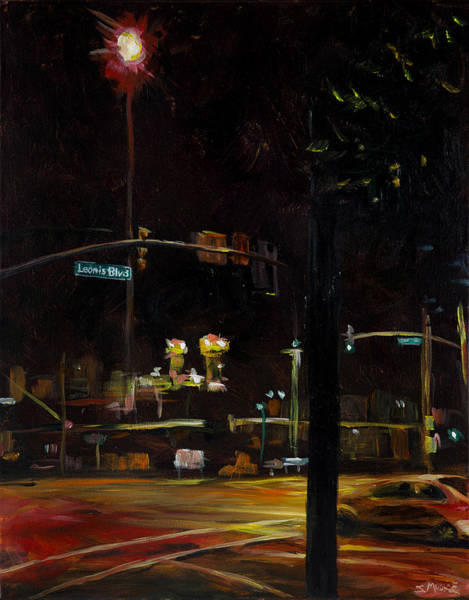 Painting - Leonis Blvd by Susan Moore