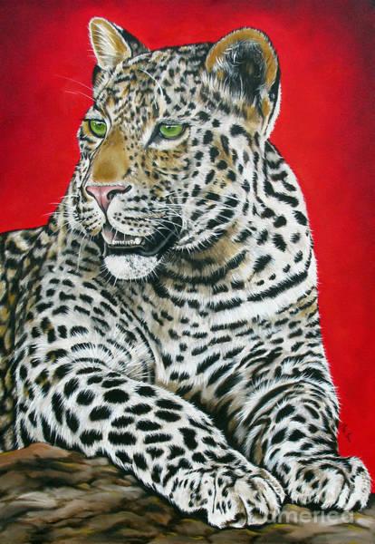 Wall Art - Painting - Leopard by Ilse Kleyn