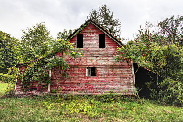 Photograph - Leos Loveable Apple Barn - Things You Might See In The Country by Gary Heller