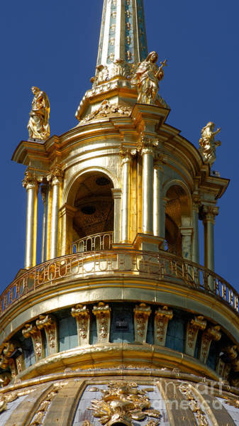 Invalides Photograph - Les Invalides by Colin Woods