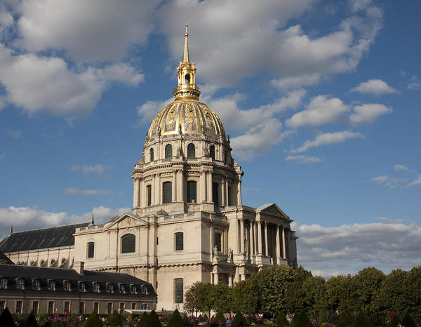 Photograph - Les Invalides Dome by Nathan Rupert