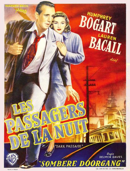 Bogart Digital Art - Les Passagers De La Nuit by Studio Release