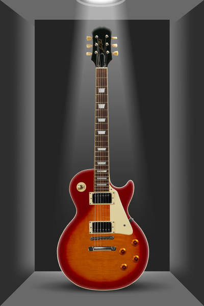 Electric Guitar Photograph - A Classic In A Box 2 by Mike McGlothlen