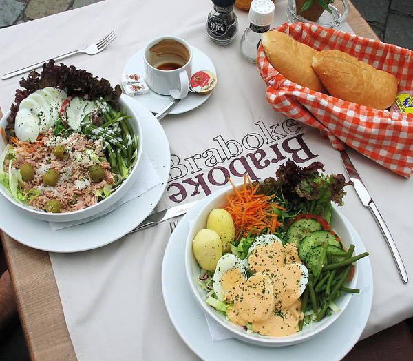 Photograph - Les Salades Belgiques by Gerry Bates