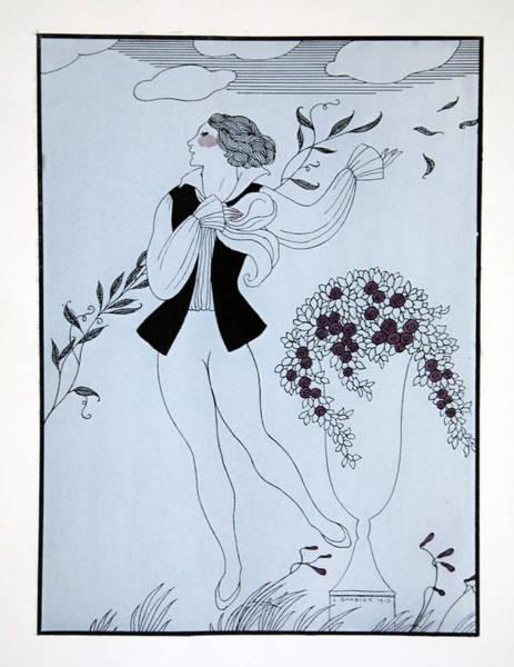 Dancing Men Painting - Les Sylphides by Georges Barbier