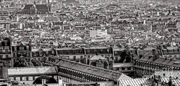 Paris Rooftop Photograph - Les Toits De Paris by Olivier Le Queinec