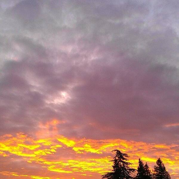 Beautiful Sunrise Wall Art - Photograph - Les Trois Soeurs by CML Brown
