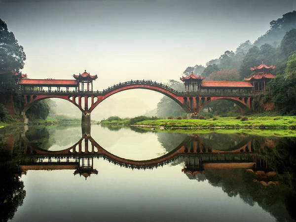 Giant Buddha Photograph - Leshan Giant Buddha by Photograpy Is A Play With Light