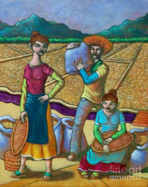 Wall Art - Painting - Leslie Gayle At Billy Sa Tahipan by Paul Hilario